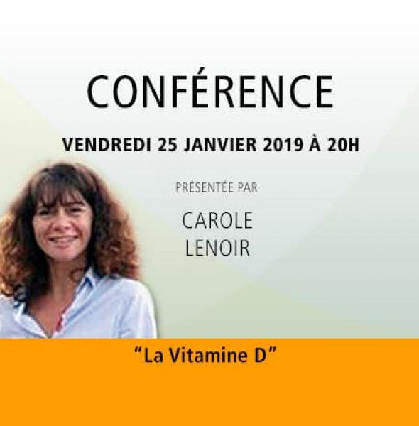Carole Lenoir : La Vitamine D