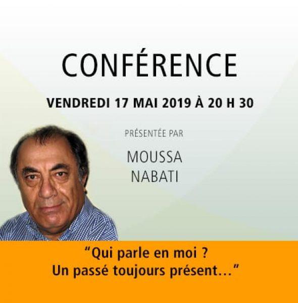 Moussa Nabati : Qui parle en moi ? Un passé toujours présent…