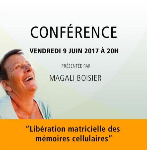"""Magali Boisier : «Libération matricielle des mémoires cellulaires"""""""