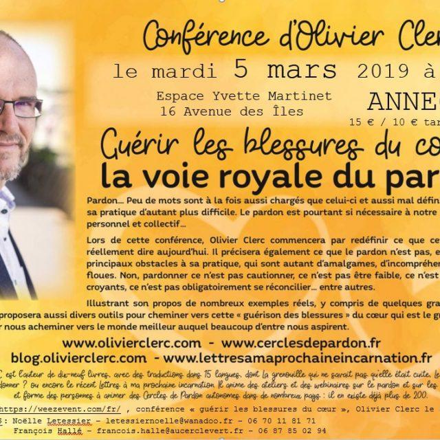 Olivier Clerc – Guérir les blessures du cœur : La voie royale du Pardon