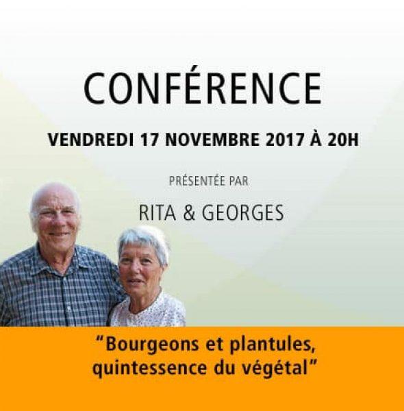 """Rita & Georges : """"Bourgeons et plantules, quintessence du végétal"""""""