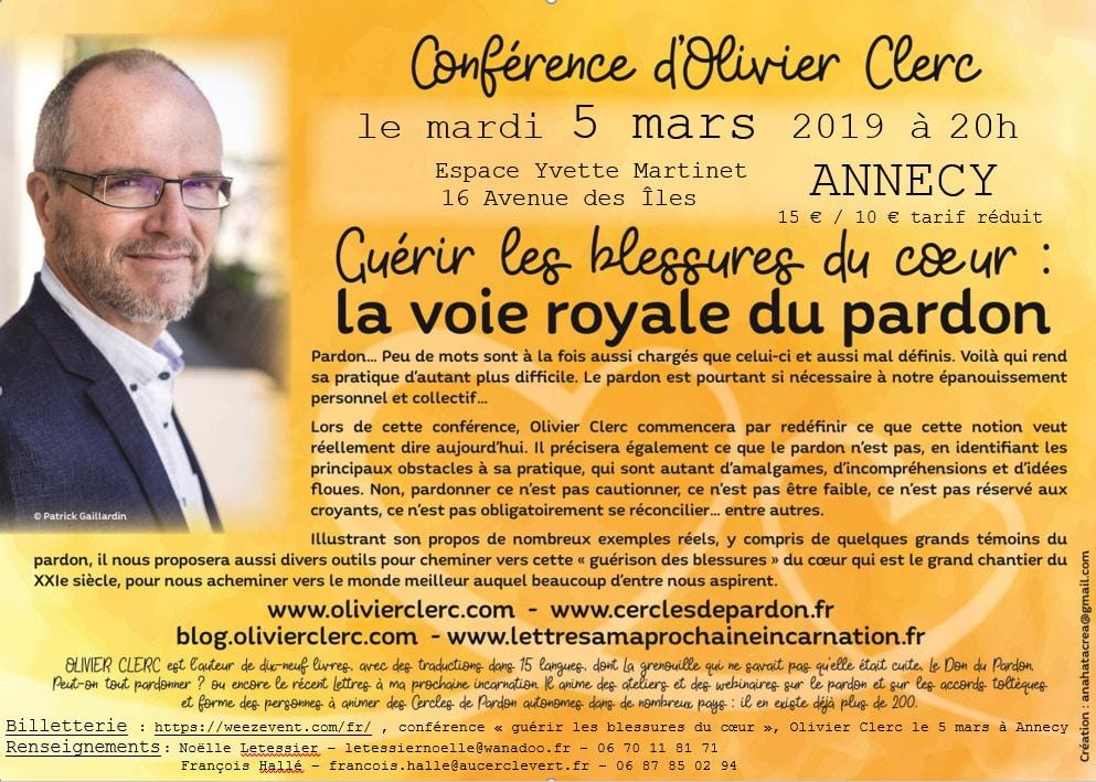 Conférence Olivier Clerc